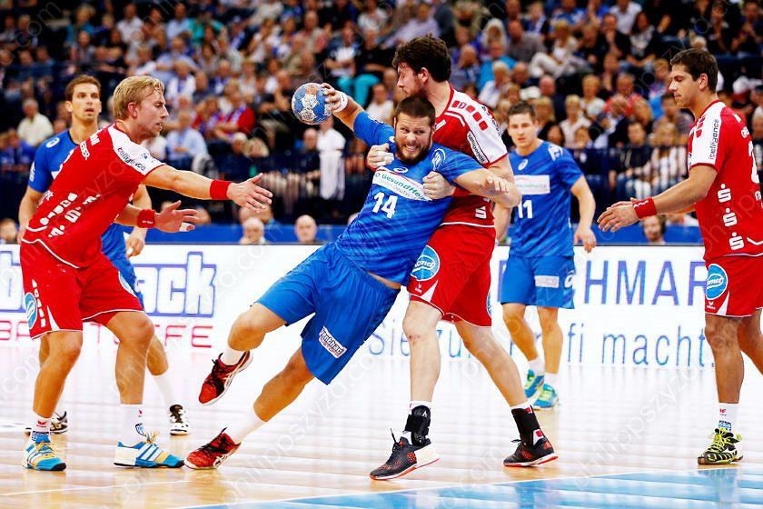 HSV Handball - TBV Lemgo © Philipp Szyza