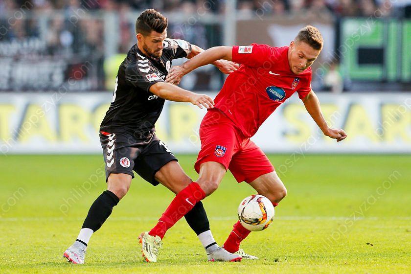 FC St. Pauli - 1. FC Heidenheim © Philipp Szyza