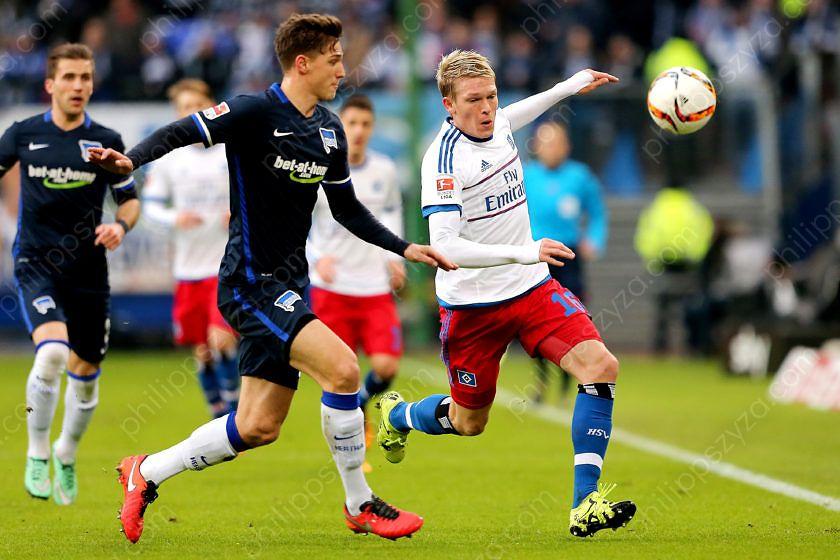 Hamburger SV - Hertha BSC © Philipp Szyza
