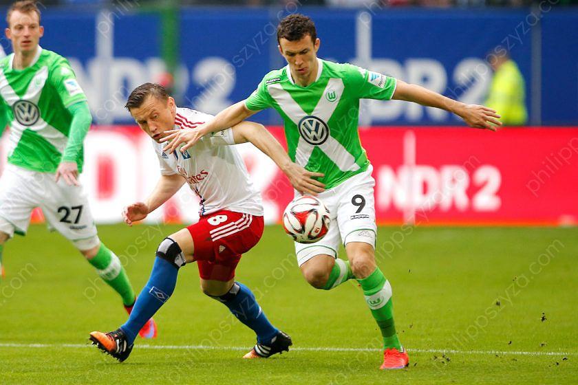 Hamburger SV - VfL Wolfsburg © Philipp Szyza