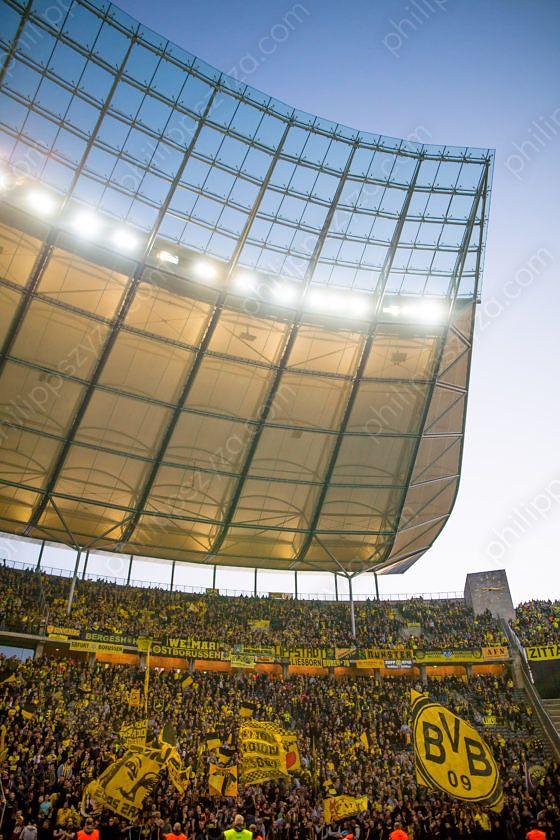 Hertha BSC - Borussia Dortmund © Philipp Szyza