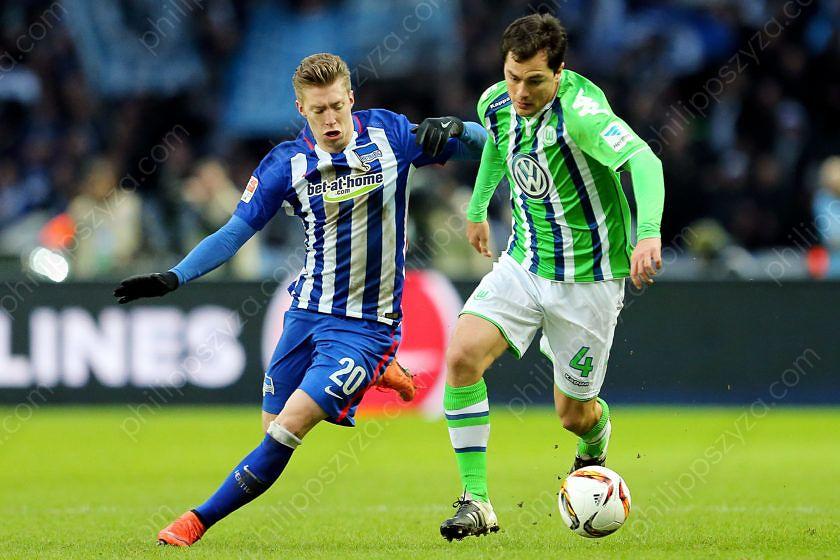Hertha BSC - VfL Wolfsburg © Philipp Szyza
